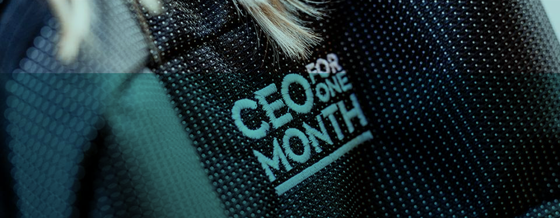 CEO for One Month Header